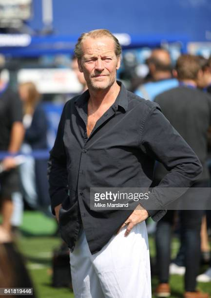 Iain Glen during the #GAME4GRENFELL at Loftus Road on September 2, 2017 in London, England. The charity football match has been set up to benefit...