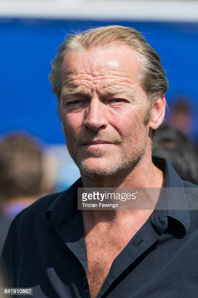 Iain Glen during the #GAME4GRENFELL at Loftus Road on September 2 2017 in London England The charity football match has been set up to benefit those...
