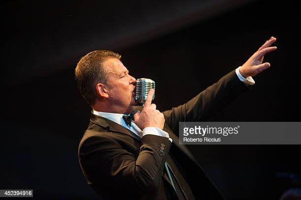 Iain Hunter performs on stage at Edinburgh Jazz Blues Festival at Queens Hall on July 19 2014 in Edinburgh United Kingdom