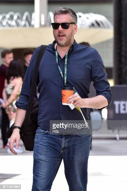 Iain Lee seen outside the ITV Studios on June 11 2018 in London England