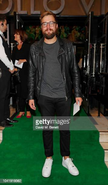 Iain Stirling arrives as hit musical Wicked celebrates 12 years at Apollo Victoria Theatre on September 27 2018 in London England