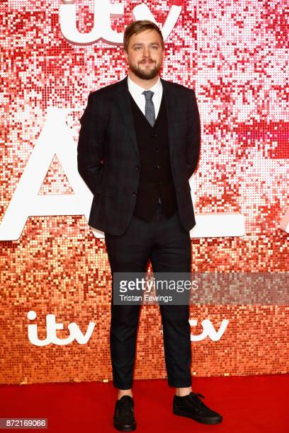 Iain Stirling arriving at the ITV Gala held at the London Palladium on November 9 2017 in London England