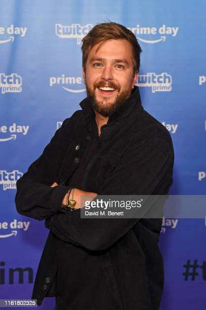 Iain Stirling at the Twitch Prime Crown Cup at the Gfinity Esports Arena July 13 2019 in London England The event was streamed live at...