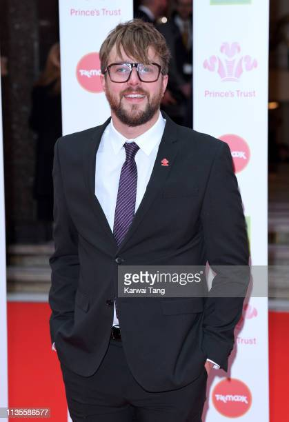 Iain Stirling attends The Prince's Trust TKMaxx and Homesense Awards at The Palladium on March 13 2019 in London England