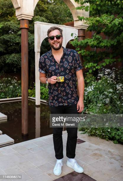 Iain Stirling attends the Wedgwood 260th Anniversary Party during the Chelsea Flower Show at The Royal Hospital Chelsea on May 21, 2019 in London,...