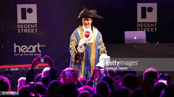 Ian Adams attends the Regent Street Christmas Lights switch on event with Heart FM on November 16 2017 in London England