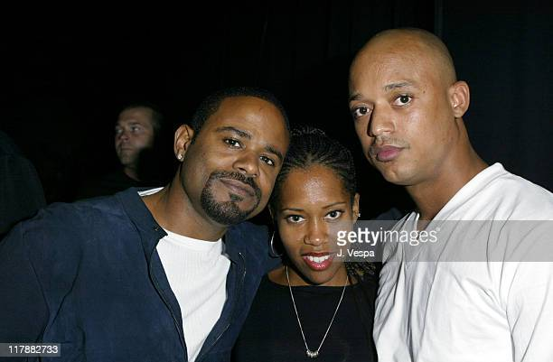 Ian Alexander Regina King and Jihad Shaw during PlayStation 2 and Mark Wahlberg Host Celebrity Gaming Tournament for Charity Inside at Club Ivar in...