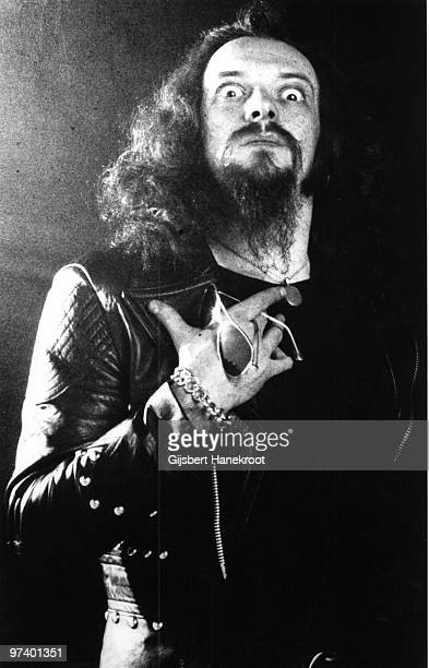 Ian Anderson from Jethro Tull posed in Amsterdam Netherlands on February 12 1972
