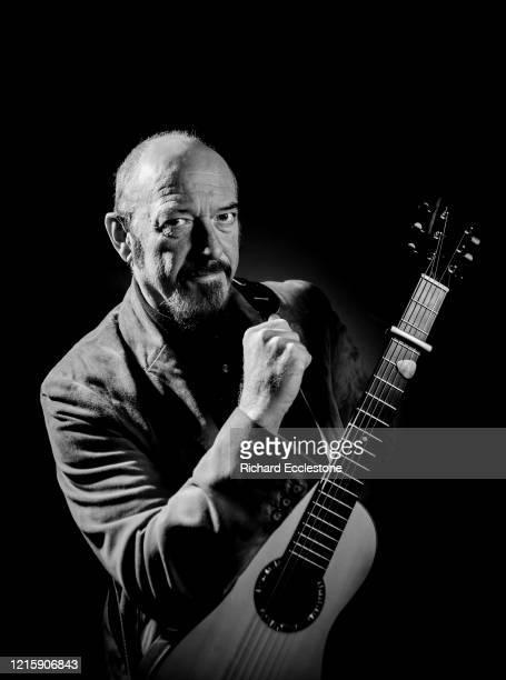 Ian Anderson frontman of UK band Jethro Tull Wiltshire 2009