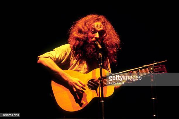 Ian Anderson is performing with Jethro Tull at Sorts Arena in San Diego California on March 12 1978