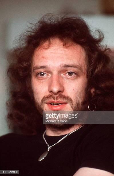 Ian Anderson Jethro Tull portrait London 2nd June 1976