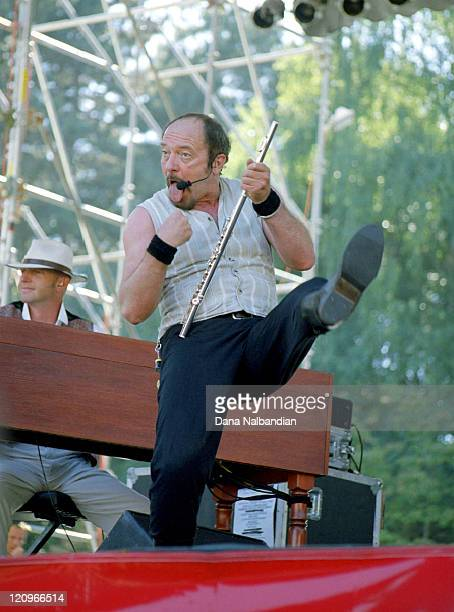 Ian Anderson of Jethro Tull during Jethro Tull Live In Concert September 1 1998 at Seatte Memorial Stadium in Seattle Washington United States