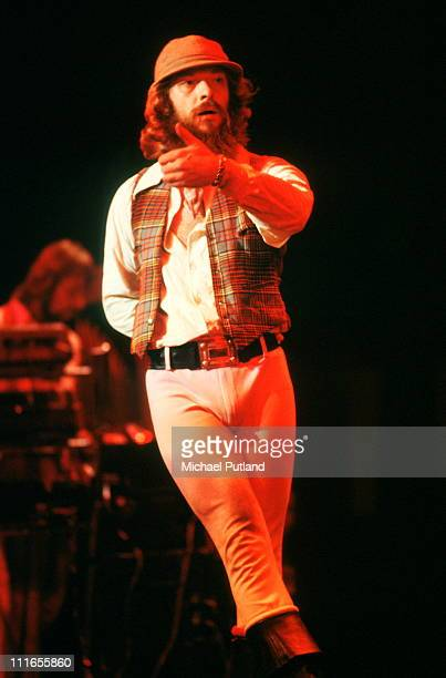Ian Anderson of Jethro Tull performs on stage at Madison Square Garden New York October 1978