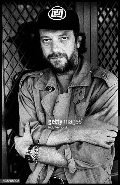 Ian Anderson of Jethro Tull poses for a portrait at the Promenade Hotel The Hague Netherlands 24th September 1984