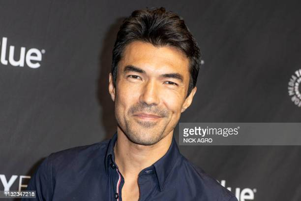 Ian Anthony Dale arrives for the Paley Center for Media's 2019 PaleyFest 'Hawaii Five0' 'MacGyver' And 'Magnum PI' March 23 2019 at the Dolby Theater...