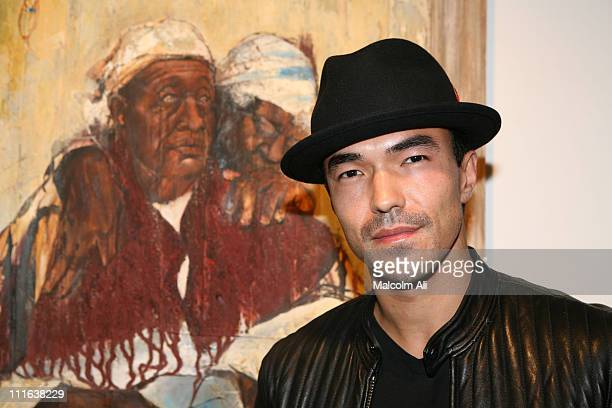 Ian Anthony Dale during Left Coast Galleries Present Chaz Guest Picture Behind The Wall at Left Coast Galleries in Studio City California United...