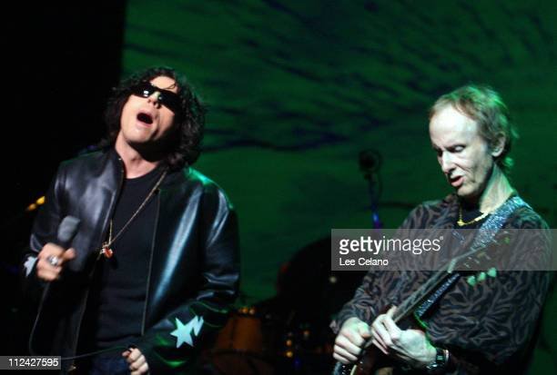 Ian Astbury and Robby Krieger perform with the Doors of the 21st Century live at the Universal Amphitheatre