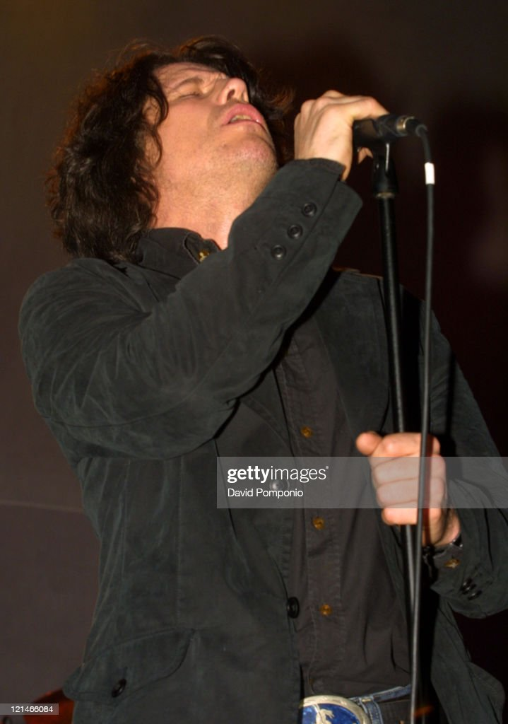 Ian Astbury of The Doors of the 21st Century during The Doors of the 21st Century in Concert - May 5, 2004 at Roseland Ballroom in New York City, New York, United States.