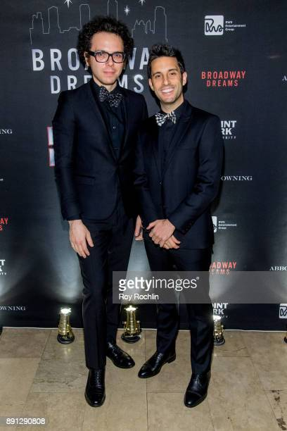Ian Axel and Chad King attend the10th Annual Broadway Dreams Supper at The Plaza Hotel on December 12 2017 in New York City