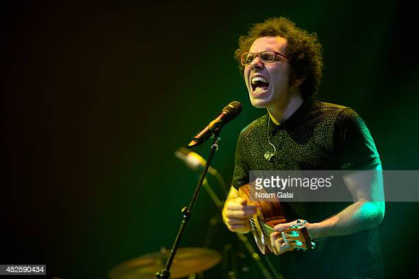 Ian Axel of A Great Big World performs at R Baby Foundation's Rockin' To Save Babies' Lives Benefit Concert Presented By Z100 at Hammerstein Ballroom...