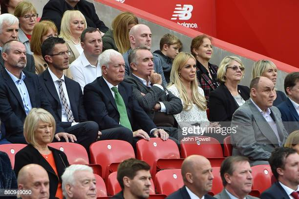 Ian Ayre ex CEO of Liverpool during the Kenny Dalglish Stand unveiling on October 13, 2017 in Liverpool, United Kingdom.