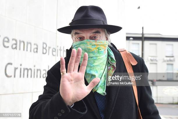 Ian Bailey arrives for his extradition hearing at the Criminal Court of Justice on July 15 2020 in Dublin Ireland Ian Bailey is wanted by authorities...