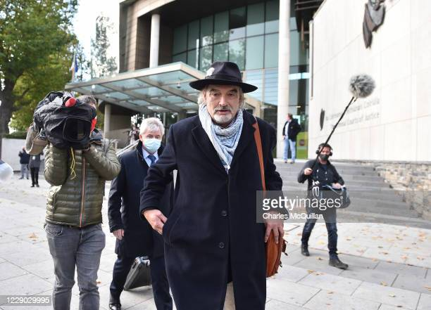 Ian Bailey pictured as he exits the Criminal Courts of Justice following the ruling that he will not be extradited regarding the murder of Sophie...