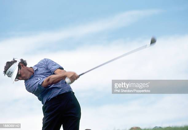 Ian BakerFinch of Australia in action during the British Open Golf Championship held at the Turnberry Golf Resort in Scotland circa July 1994