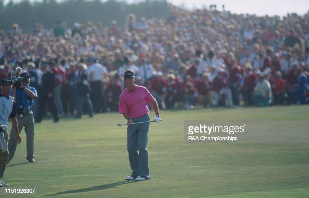 Ian BakerFinch of Australia reacts during The 120th Open Championship held at Royal Birkdale Golf Club from July 18211991 in Southport England