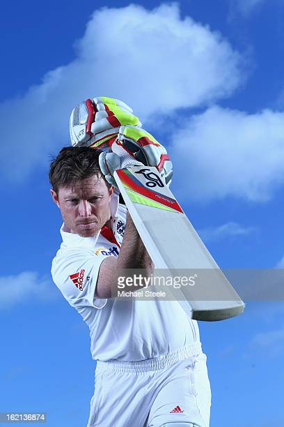 Ian Bell of England and Warwickshire poses during a portrait session at Edgbaston on January 30 2013 in Birmingham England