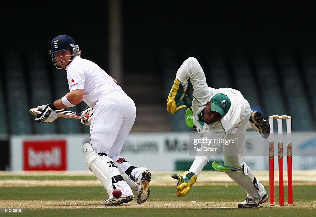 South African Airways XI v England - Tour Match Day Two : News Photo