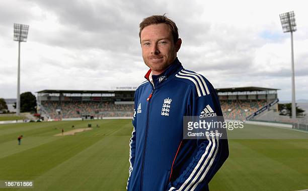 Ian Bell of England poses a portrait during an England media session at Blundstone Arena on November 4 2013 in Hobart Australia