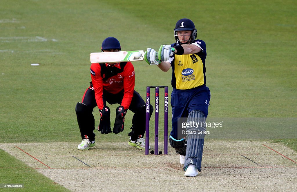 Ian Bell of the Birmingham Bears in action during the NatWest T20 Blast between Durham Jets and Birmingham Bears at Emirates Durham ICG, on June 06, 2015 in Chester-le-Street, England.
