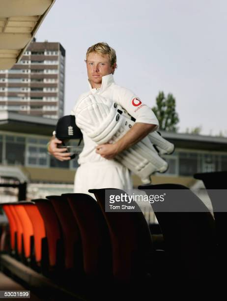 Ian Bell of Warwickshire and England poses for a portrait at the Edgbaston Cricket Ground on June 7 2005 in Birmingham England