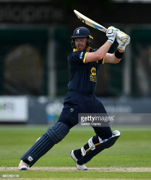 Ian Bell of Warwickshire bats during the Royal London OneDay Cup match Worcestershire and Warwickshire at New Road on May 12 2017 in Worcester England