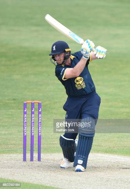 Ian Bell of Warwickshire in action during the Royal London OneDay Cup match between Worcestershire Rapids and Warwickshire at New Road on May 12 2017...