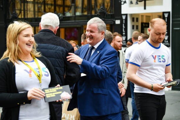 GBR: SNP's Westminster Leader Marks Five-years Since Scottish Referendum