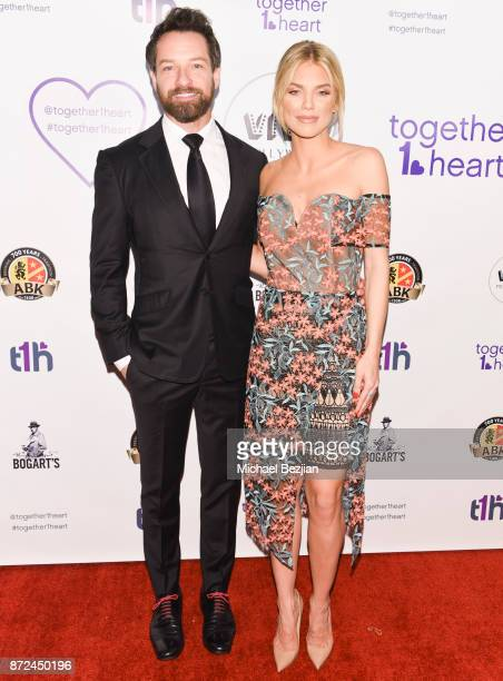 Ian Bohen and Annalynne McCord attend 2017 Voices For Change Awards at Viva Hollywood on November 9 2017 in Hollywood California