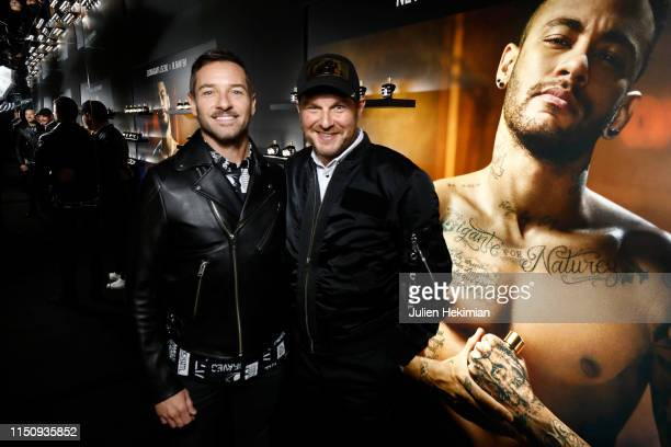 Ian Bohen and Julien Boudet attend the Diesel 'Spirit of the Brave' Perfume Launch Party at Salle Wagram on May 21, 2019 in Paris, France.