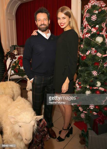 Ian Bohen attends the Brooks Brothers holiday celebration with St Jude Children's Research Hospital at Brooks Brothers Rodeo on December 2 2017 in...