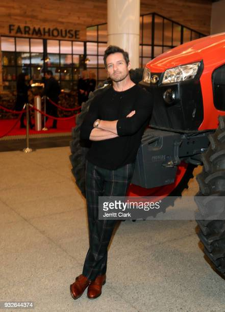 Ian Bohen attends the grand opening of FARMHOUSE Los Angeles on March 15 2018 in Los Angeles California