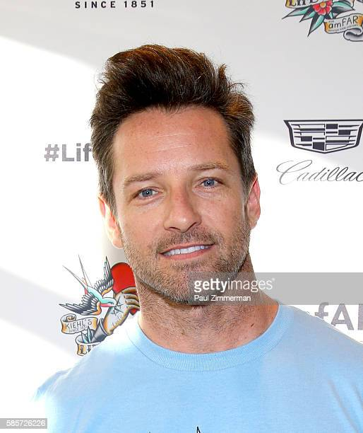 Ian Bohen attends the Kiehl's 7th Annual LifeRide For amfAR at the Kiehl's NYC flagship store on August 3 2016 in New York City