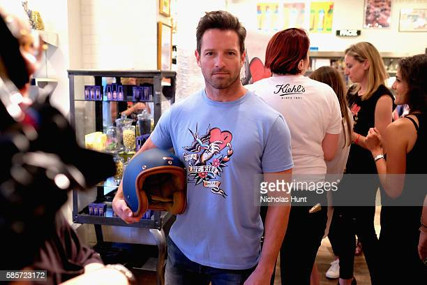 Ian Bohen attends the Kiehl's national LifeRide for amfAR celebration at the NYC flagship store on August 3 2016 in New York City