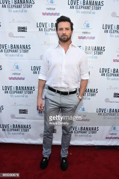 Ian Bohen attends the Love Bananas An Elephant Story Los Angeles premiere at Laemmle Music Hall on May 4 2018 in Beverly Hills California