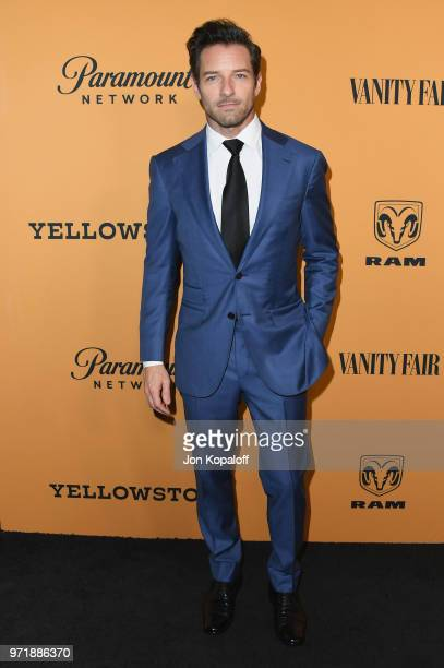 """Ian Bohen attends the premiere of Paramount Pictures' """"Yellowstone"""" at Paramount Studios on June 11, 2018 in Hollywood, California."""