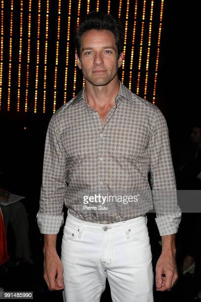Ian Bohen attends the Viktor Rolf Haute Couture Fall Winter 2018/2019 show as part of Paris Fashion Week on July 4 2018 in Paris France