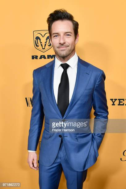 """Ian Bohen attends """"Yellowstone"""" premiere at Paramount Pictures on June 11, 2018 in Los Angeles, California."""