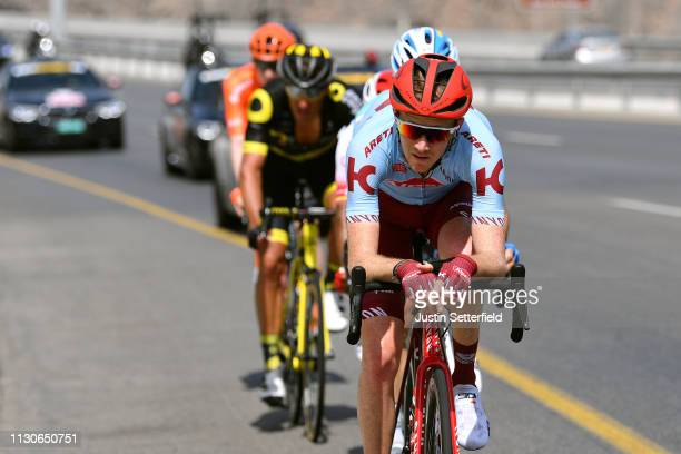 Ian Boswell of The United States and Team Katusha Alpecin / during the 10th Tour of Oman 2019 Stage 4 a 131km stage from Yiti al Sifah to Muscat...