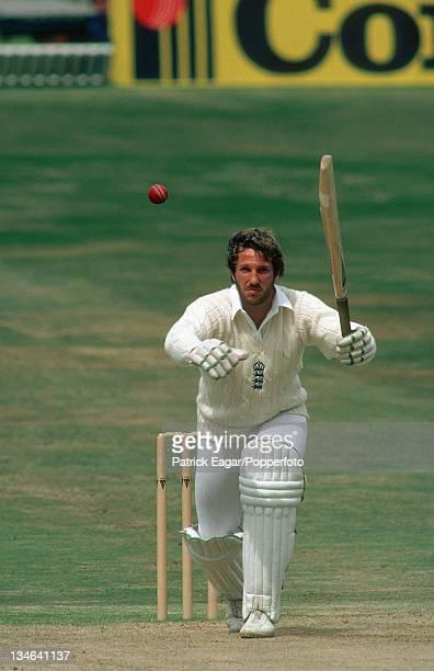 Ian Botham during his 149, England v Australia, 3rd Test, Headingley, July 1981.