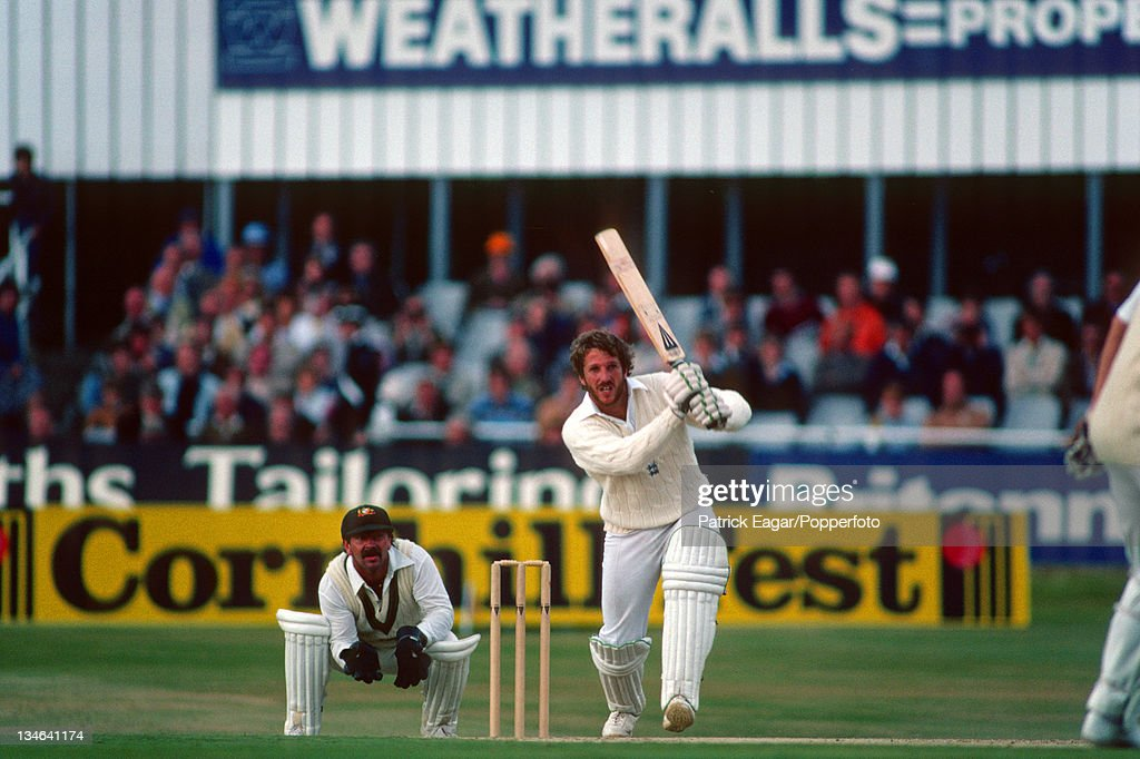 England v Australia, 3rd Test, Headingley, July 1981 : News Photo